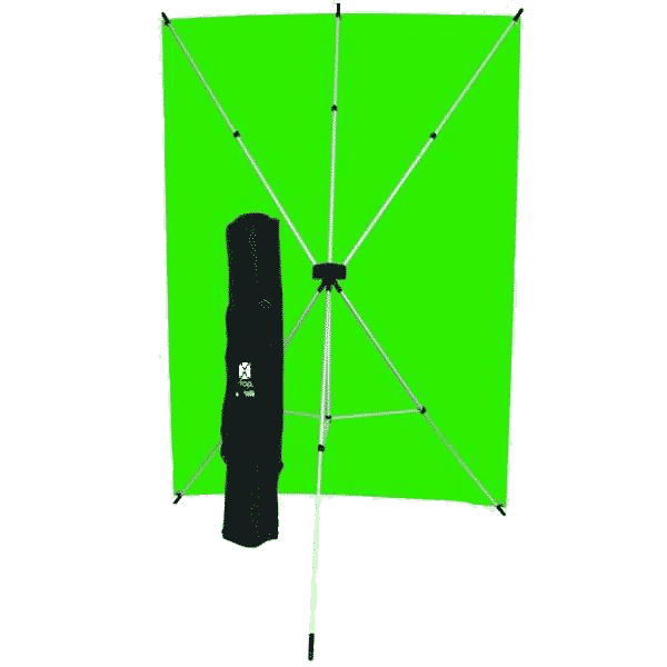 Westcott X-Drop Kit mit Grünem Backdrop 1.5x2.1m