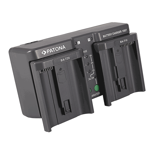 Dual Ladegerät für Nikon EN-EL18 von Patona