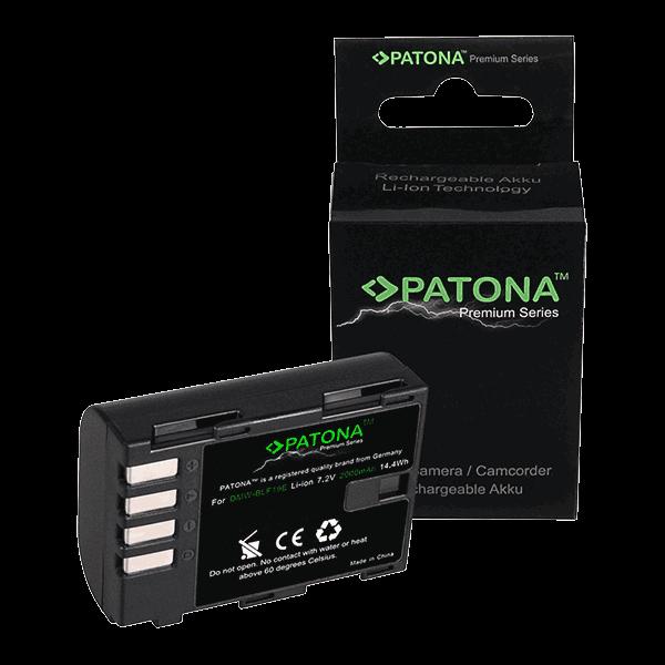 Premium Akku für Panasonic DMW-BLF19 von Patona