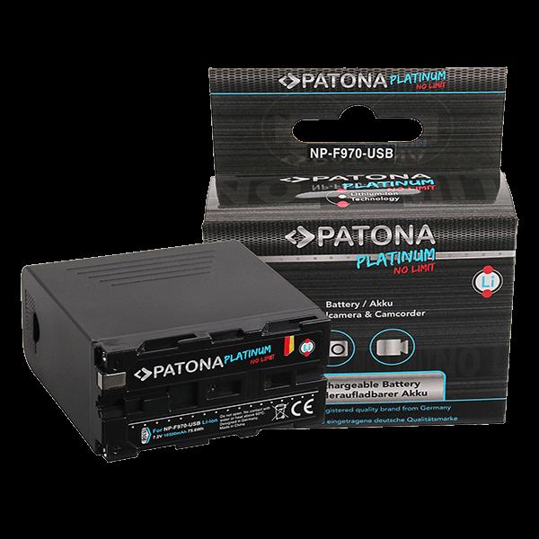 Platinum Akku für Sony NP-F970 von Patona