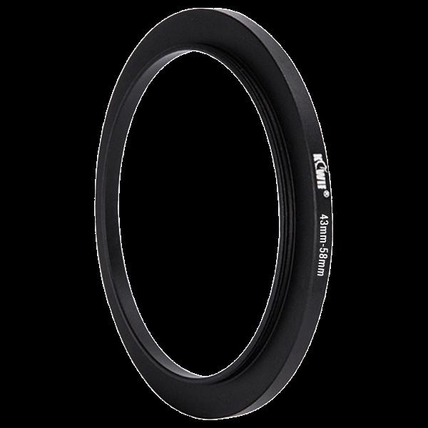 Kiwifotos Step-Up Ring 43-58mm