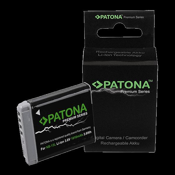 Premium Akku für Canon NB-13L von Patona