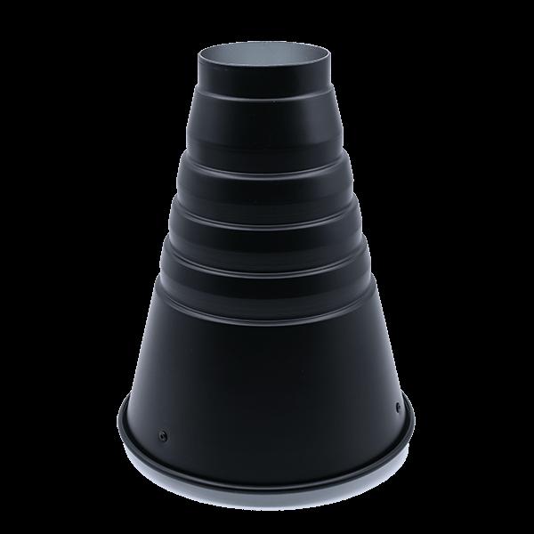 Jinbei Spotvorsatz mit Wabe - Conical Snoot M II