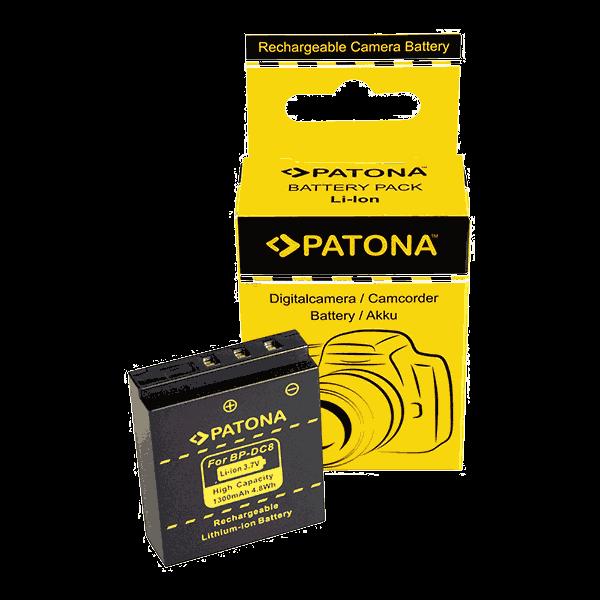 Akku für Leica BP-DC8 von Patona zu leica X1, leica X2