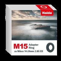 Haida M15 Adapter Ring zu Nikon 14-24mm 2.8G ED Objektiv