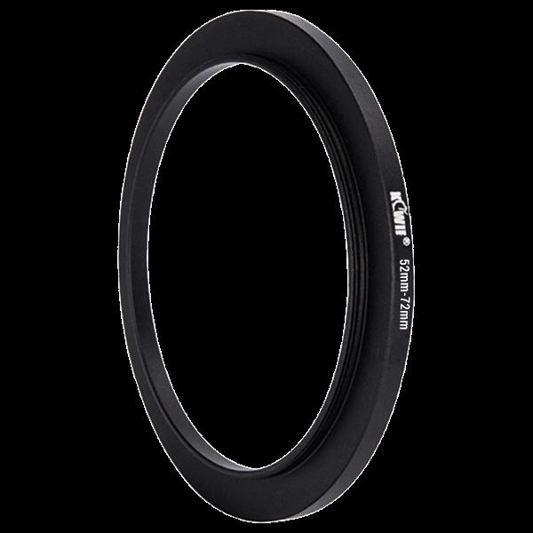 Kiwifotos Step-Up Ring 52-72mm