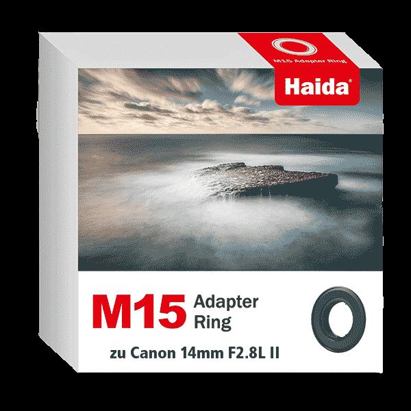 Haida M15 Adapter Ring zu Canon 14mm F2.8L II Objektiv