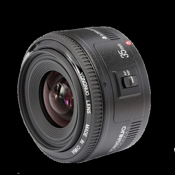 Yongnuo EF YN 35mm F2 Objektiv mit Canon EF Anschluss