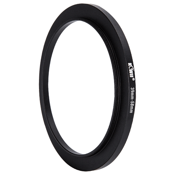 Step Up Ring 39mm-58mm