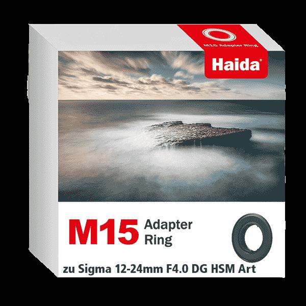 Haida M15 Adapter Ring zu Sigma 12-24mm F4.0 DG HSM Art Objektiv