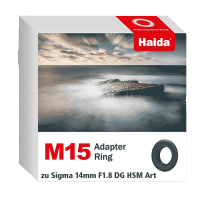 Haida M15 Adapter Ring zu Sigma 14mm F1.8 DG HSM Art Objektiv