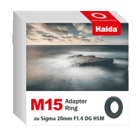Haida M15 Adapter Ring zu Sigma 20mm F1.4 DG HSM Objektiv