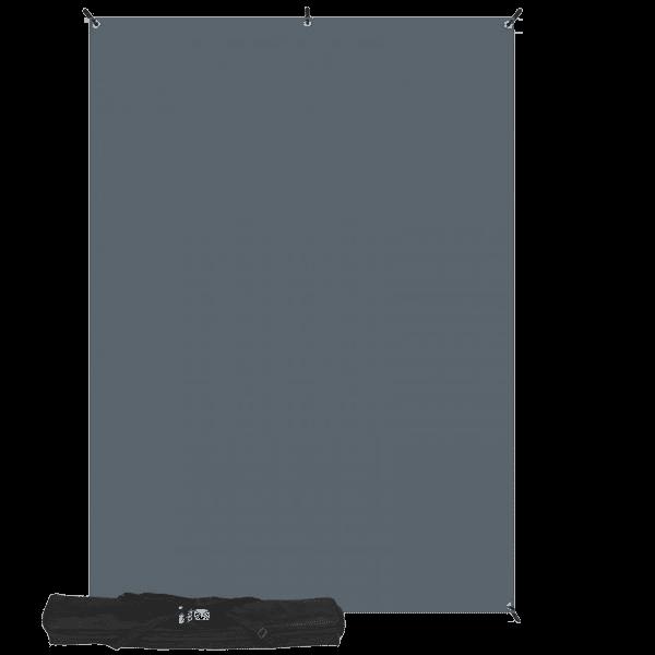Westcott X-Drop Kit mit Neutral Grau Backdrop 1.5x2.1m