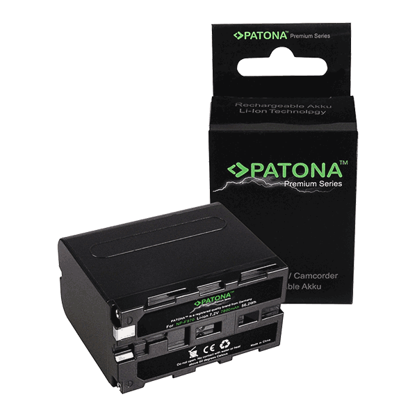 Premium Battery for Sony NP-F970 by Patona