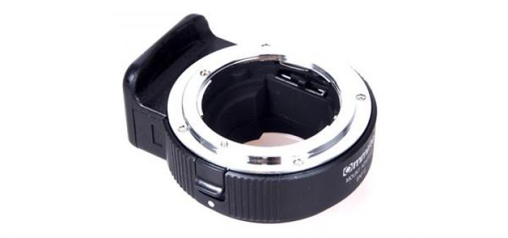 commlite cm enf e 1 adapter nikon objektive auf e mount kameras objektivadapter filter. Black Bedroom Furniture Sets. Home Design Ideas